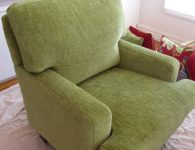 Upholstery Cleaning Melbourne - microfiber arm chair