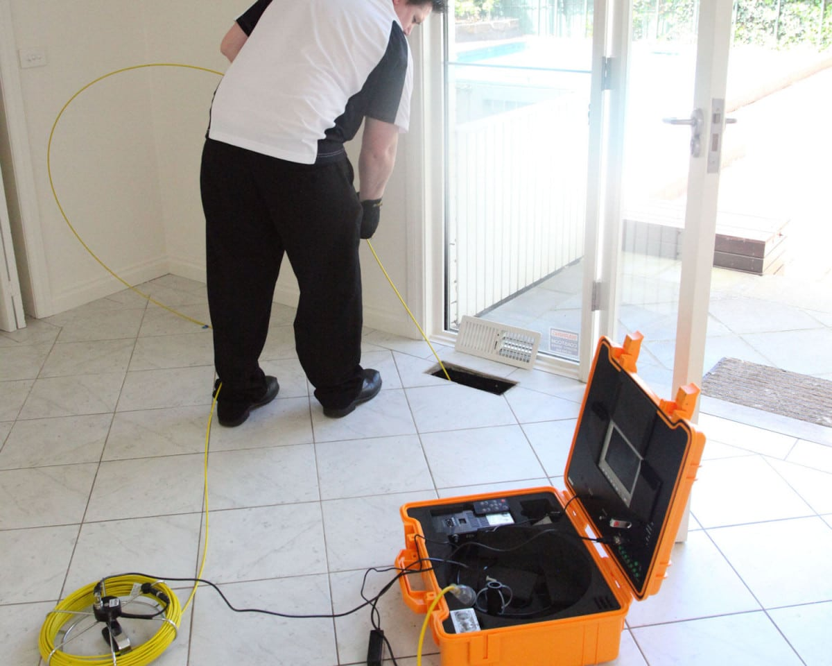 Duct Cleaning - Duct video inspection camera
