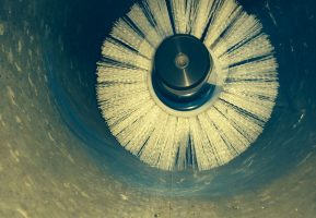 Duct Cleaning - Turbo brush cleaning
