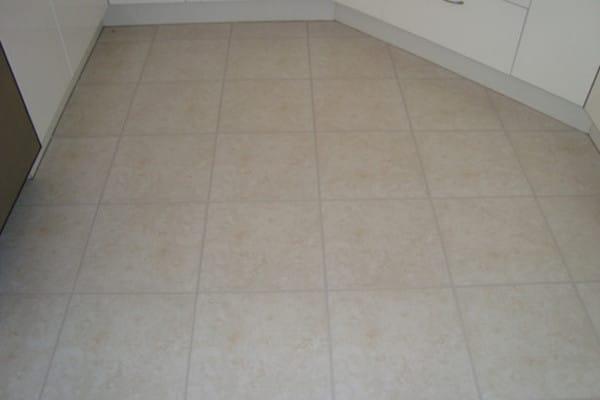 Kitchen tiles after grout colour seal Melbourne